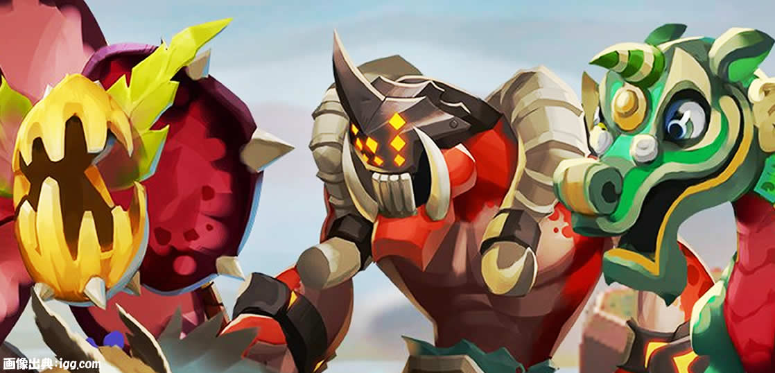 ローモバ 魔 獣 ヒーロー
